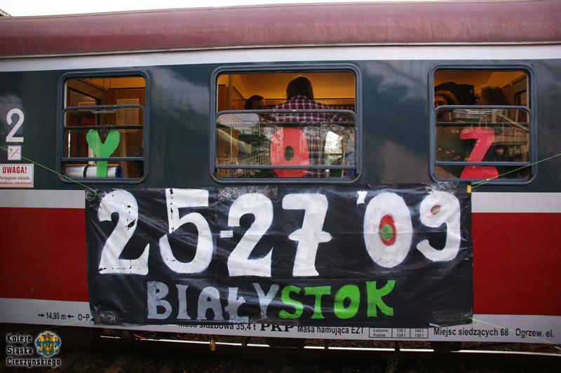 Oznakowanie pociągu specjalnego